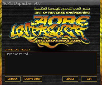 AoRE Unpacker