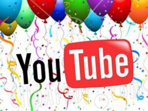 День рождения YouTube