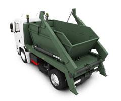 вывоз строительного мусора контейнером 8 куб м