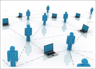 система общения с коллегами через интернет