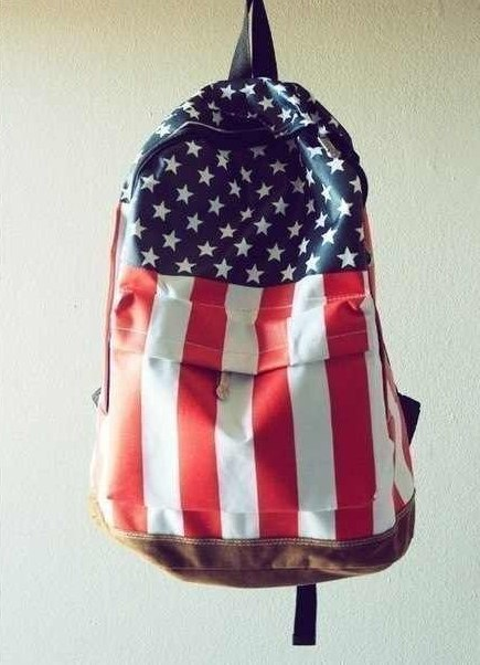 молодежный рюкзак флаг США