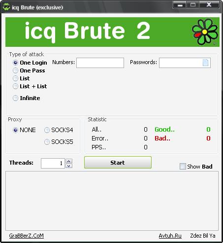 icqBrute 2