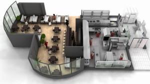 профессиональное проектирование ресторана