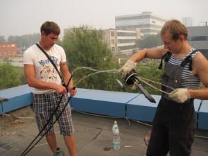 Несколько правил относительно прокладки кабелей