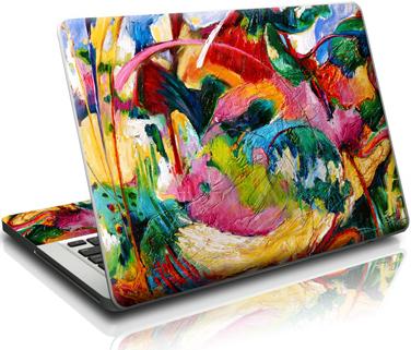 Обновите свой ноутбук с помощью наклейки
